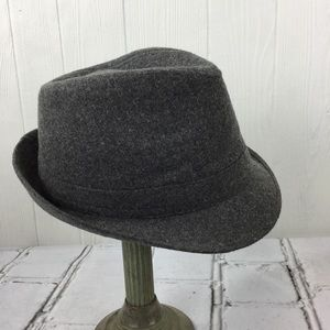 Milani Fedora Hat designed in Italy Wool/Poly M/L